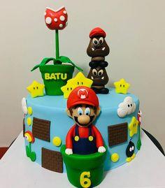 Super Mario sevenleri buraya alalım mı? İyi ki doğmuş Batu...@yumrutaseczanesi #supermariocake #supermariopasta @sekersugar Mario, Pasta, Cake, Desserts, Food, Tailgate Desserts, Deserts, Kuchen, Essen