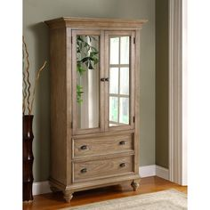 Have to have it. Riverside Coventry Armoire - Weathered Driftwood - $1374.75 @hayneedle.com