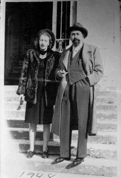 Oliverio Girondo y Norah Lange. Año 1948.
