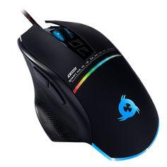 KLIM Skill High Precision Gaming Mouse USB - NEU - Wählbare DPI-Einstellung – Programmierbare Tasten - Komfortabler Griff für alle Handgrößen – Exzellenter Griff  EUR 24,90