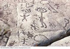 Petroglyphs Provincial Park North Kawartha ON Can.