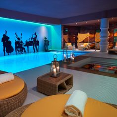 Spa mit Pool im Aria Boutique Hotel in Budapest | creme guides