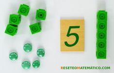 Policubos sueltos y agrupados Math Games, Cubes, Concept, Classroom, Activities