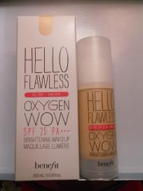 BENEFIT-HELLO FLAWLESS- FOUNDATION (FREE SHIPPING) $28