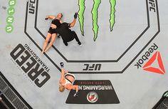 Holly Holm Deposes Ronda Rousey, Wins Women's Bantamweight Title in UFC 193 Stunner Holly Holm, Mma Clothing, Rowdy Ronda, Mma Fighting, Ufc Women, Dana White, Brazilian Jiu Jitsu, Ronda Rousey, Kickboxing