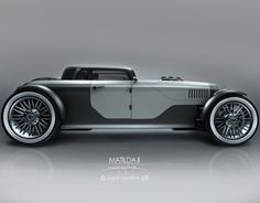 Matilda II is a three box, open wheel concept car. The main idea was to design a car, which has classic feelings with modern shapes.