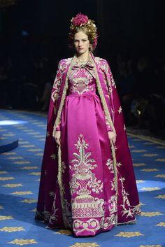 Dolce & Gabbana - Alte Artigianalità Spring/Summer 2017 Couture Collection | British Vogue