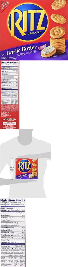 Crackers 179238: Ritz Crackers, Garlic Butter, 13.7-Ounce (Pack Of 4) -> BUY IT NOW ONLY: $34.48 on eBay!