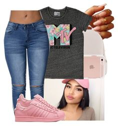 """""""MTV be lit sometimes """" by naebreezy ❤ liked on Polyvore featuring Michael Kors and Fifth Sun"""