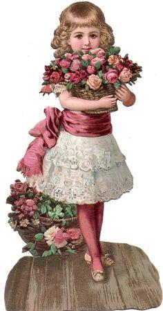 Alenquerensis: For your Projects Clip Art Vintage, Images Vintage, Retro Vintage, Vintage Ephemera, Vintage Girls, Vintage Pictures, Vintage Children, Vintage Postcards, Vintage Prints