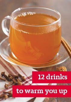 12 drinks to warm you up – Warm up any occasion with these delicious hot drink recipes.