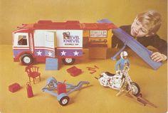 Evel Knievel Toy Set