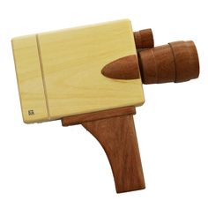 Ready? Set. Action! This simple and beautifully made wooden toy resembles a…