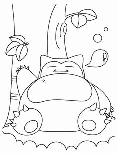 Desenhos para pintar Pokemon 12