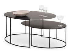 Slim Irony Coffee Table Set  http://vurni.com/slim-irony-coffee-table-oval/