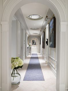 Beautiful details in this gorgeous hallway