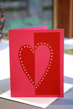 quick heart cards Make It... a Wonderful Life