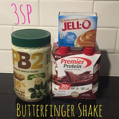 Like Butterfingers? I keep seeing this treat online so I finally decided to try … Like Butterfingers? I keep seeing this treat online so I finally decided to try it. It tastes like a Butterfinger candy bar, but it's a… Weight Watchers Shakes, Weight Watcher Smoothies, Weight Watchers Diet, Weight Watchers Desserts, Weight Watchers Online, Pb2 Recipes, Protein Shake Recipes, Smoothie Recipes, Protein Smoothies