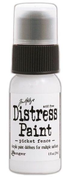 Tim Holtz® Distress Paint Dabber - Picket Fence