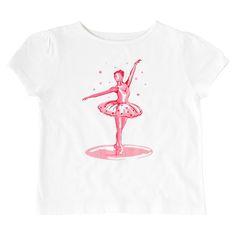Ballerina Kids Short Sleeve T-shirt | View All | CathKidston