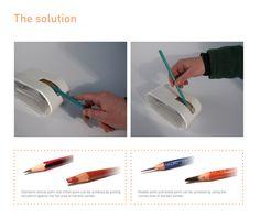 Inside-out Pencil Sharpener on Behance