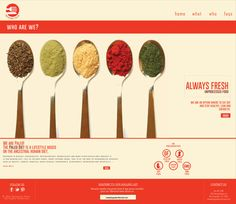 Tweaking Paleo Project by Doris Nunez, via Behance
