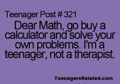 : P  Math has problems