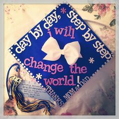 Graduation Cap Decoration Idea