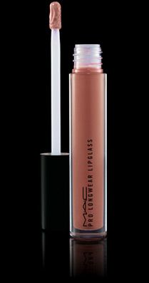 Mac Comsetics Pro Longwear Lip Glass $20 - last all days and stays shiny for hours, with a creamy, not sticky texture