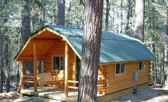 Budget101.com: 30 Free Cabin Plans (via Facebook)
