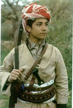 This guy you've all seen before...Masud Barzani as a teenager