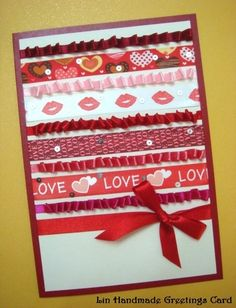 Ribbons on Greeting Cards