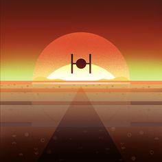 TIE Fighter inbound  Star Wars