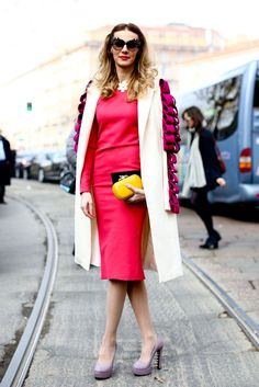 Streetstyle: Неделя моды в Милане.