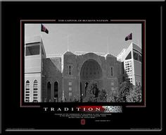 Ohio State TRADITION Motivational Poster