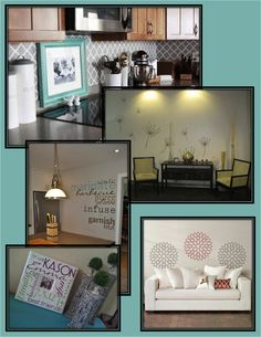 These projects were all created with Uppercase Living.  For more UL decorating ideas go to my FB fanpage: http://on.fb.me/PUflhy