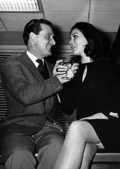 Steed and Mrs Peel-style clinkin'-drinkin' elegance has been attained.