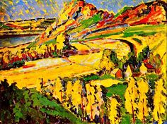 Emily Carr is known for her stunning portraits of Canada's west coast. This Emily Carr artist bio includes her early life and personal musings Tom Thomson, Canadian Painters, Canadian Artists, Matisse, Emily Carr Paintings, Ontario, Vancouver Art Gallery, Art Chinois, Group Of Seven