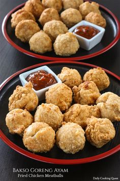 Bakso Goreng Ayam - Fried Chicken Meatballs
