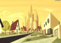 powerpuff girls house - Google Search