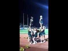 College of William & Mary Cheerleading- High Split!