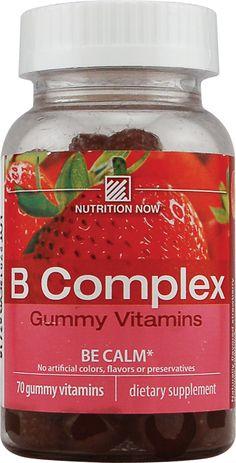 Nutrition Now B Complex Gummy Vitamins Strawberry