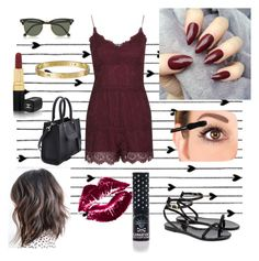 """""""Untitled #13"""" by glamjournal ❤ liked on Polyvore featuring Camp, Ted Baker, Cartier, Chanel, Ray-Ban, Topshop, Rebecca Minkoff and Manic Panic NYC"""