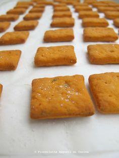 Cracker al pomodoro e origano - Fiordilatte