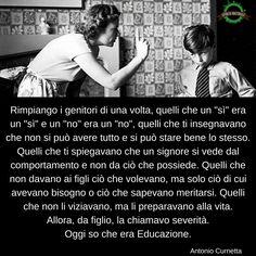 Severità <> Educazione