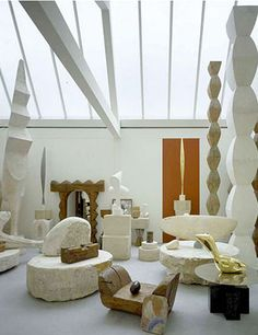 Brancusi's Studio – Centre Pompidou, Paris. Romanian sculpture Brancusi radically changed the way we understood sculpture. He continually strove to show the essence of his subject; he's in a league of his own.