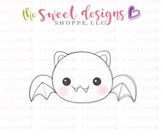 6cf46e41364d Chubby Bat 2018. The Sweet Designs Shoppe