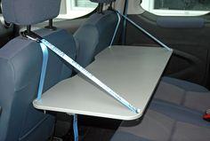 VanEssa Mobilcamping - Camping Ausbau für Deinen Van - T5, T6, Mercedes u.v.m. - Praktischer Innentisch für VW Caddy und Caddy Maxi