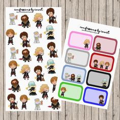 We also have Harry Potter planner stickers to match the Magnetic Bookmarks! See our previous post  sooooo cute! #harrypotter #hagrid #voldemort by confessionsinfoil
