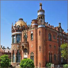 Hospital de la Santa Creu i Sant Pau.  BCN  Catalonia